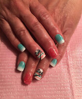 New nail tech n estheticien  in town !!