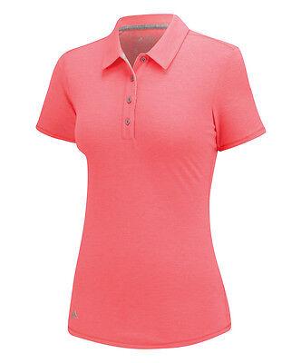 Adidas Mujer Essentials Heather Polo (S) B83161 Flash Rojo