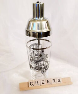 Vintage Battery Operated Cocktail Martini Shaker, Bar