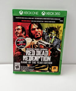 Red Redemption Game of The Year editon - $25 XBox One