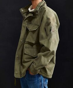Military Style Jacket - Army Surplus Green - Never Worn