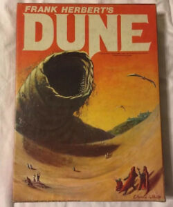 Dune board game Avalon Hill Sandworm edition