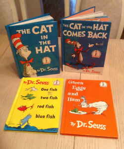 Dr Seuss's Books - Set of 4  - Hardcover