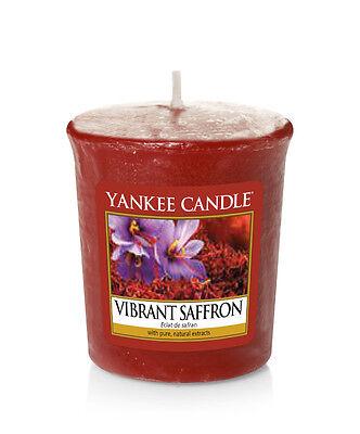 YANKEE CANDLE candela profumata votiva Vibrant Saffron durata 15 ore