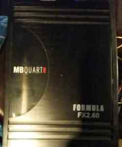 2 car amps for sale
