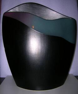 Mikasa Vase & Glass Plate