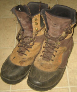 steel toed Stihl work boots in very good condition