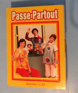 PASSE-PARTOUT,  LE COFFRET DE 5 DVD VOLUME 1