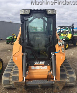 CASE TRACK LOADER TV380 LOADED WITH ONLY 435 HOURS-GREAT SHAPE