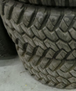 LT275-70-18 Good Used Tires Nitto Trail Grappler TIRES These are