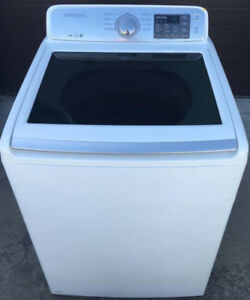 Samsung large capacity 5 cf washer, 12 month warranty