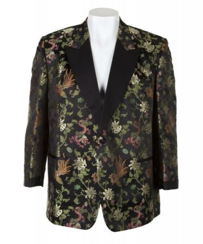 BB King OWNED & WORN Custom Made Black Chinese Stage Jacket Coat JULIEN