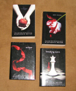 "COMPLETE COLLECTION of the ""TWILIGHT SAGA"" by Stephenie Meyer"