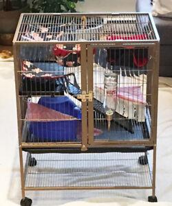 Cage pour petits animaux domestique