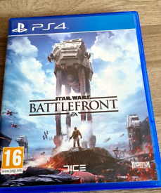 Like New Star Wars Battlefront PS4 Game