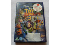 TOY STORY 1 2 & 3 Disney PAL DVDs fims movies can send