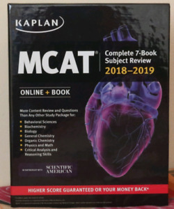 Kaplan Mcat 2018-2019 Book set
