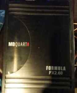 Mb quart fx 2.60 car amp