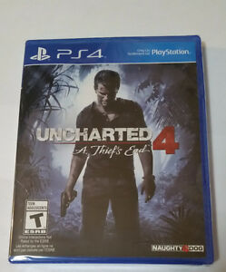Uncharted 4 - A Thief's End - Brand New in Box - Price is FIRM