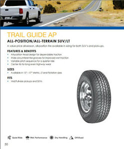 Full Set Of Sigma Trail Guide A/P 265/70r17