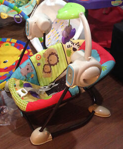 Fisher Price space saver swing / other baby infant items 4 sale