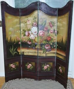 Ornate Wooden Dressing Screen-Major Price Reduction