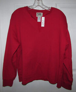 NORTHERN REFLECTIONS Red Sweatshirt - NEW