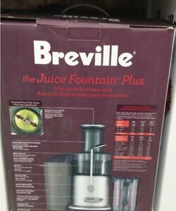 Extracteur à jus Breville Juice Fountain Plus