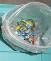 Vintage cats eye marbles