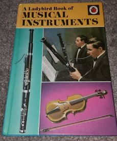 Musical Instruments Ladybird Book series 701 Illustrated