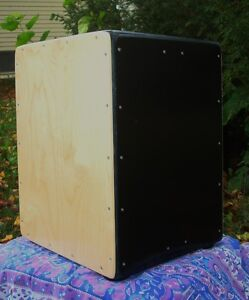 Cajon: 3n1 cajon 3 playing surfaces Tunable snare n tribal sides Cambridge Kitchener Area image 3