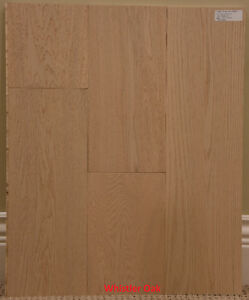 "Premium Oak Hardwood Engineered Flooring 7.5""x6' & 5""x4'"