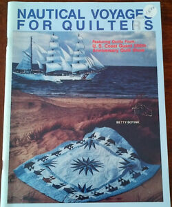 Quilting Books - Water Color and Nautical - 3 together for $5,00