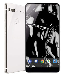 Unopened, unlocked Essential Phone in Pure White – 128 GB
