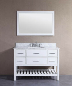 "Sauble 48"" Bathroom Vanity IN ESPRESSO"