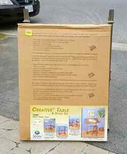 Drawing Table and Stool - New In Box