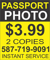 Passport Photos from $3.99***Instant Photos**Same day Service