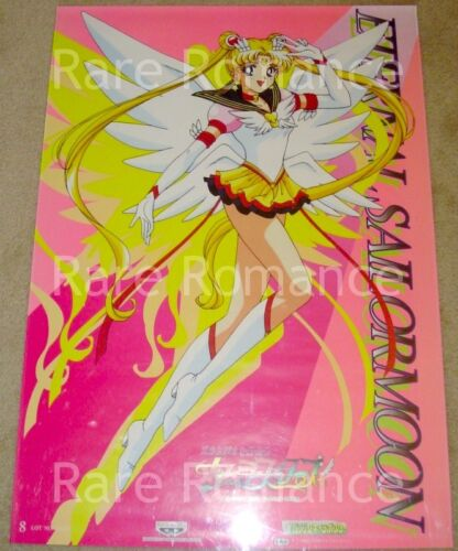Sailor Moon - Stars Banpresto Poster #8 - ETERNAL MOON Solo - Japan 1996 - 20x28