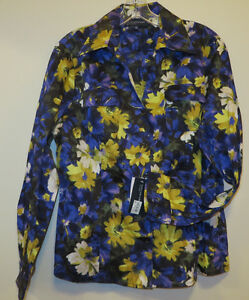 New with tags; Jones of New York Blouse, Medium/Large, Sapphire