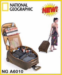 National Geographic Africa Series On-Board Suitcase BRAND NEW
