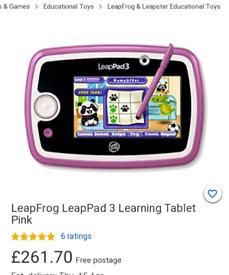Leappad tablet 3