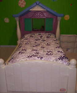 Storybook Cottage Twin Bed, Dollhouse, Table and Chairs