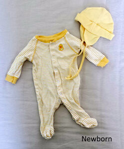 Newborn 18pcs new and mildly used clothing lot