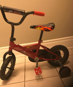 Lightning McQueen Boys Bicycle - Like NEW!
