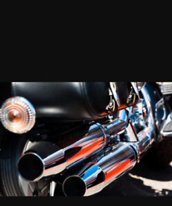 Factory chrome exhaust pipes!!!