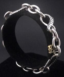 David Yurman Chain Oval Link Bracelet in Sterling Silver