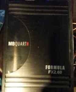 Mb quart fx2.60 car amp like new