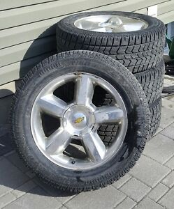 Tahoe rims and winter tires