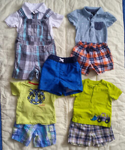 Summer clothes for baby boy 6-12 months