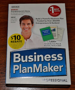 NEVER USED! Business Plan Maker